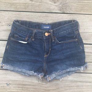 Dark blue old navy Jean shorts